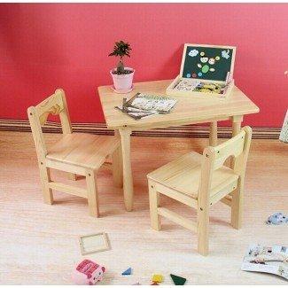 Muebles de la escuela Tiger - mesa cuadrada con sillas ...