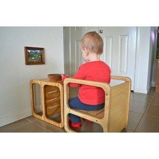 La silla Cube - cómo montessori