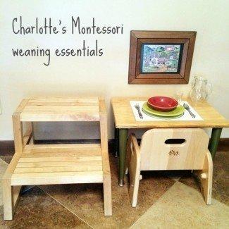 Medio oeste Montessori | Esenciales de destete Montessori