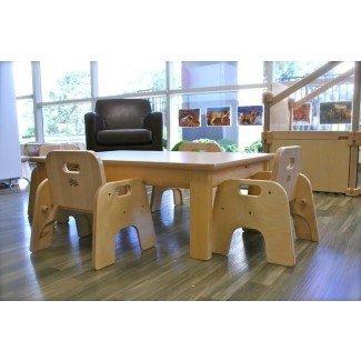 Mesa de destete infantil Montessori | P A P A. D