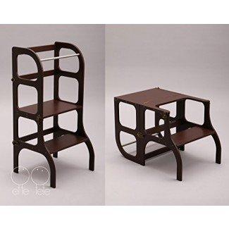 Pequeña torre auxiliar / mesa / silla todo en uno, Montessori ...