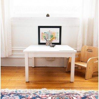 Nuestra mesa de comedor / juego Montessori - Far Out City