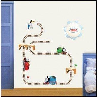THOMAS Y AMIGOS EL TREN Adhesivo de pared decorativo para niños TMS-703