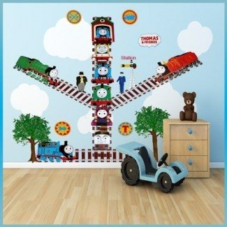 Decoración de la pared. Impresionante Thomas The Train Wall Decor: Thomas ...