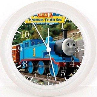 """El nuevo reloj de pared Thomas Train de 10 """"será un bonito regalo y la decoración de la pared de la habitación W68"""
