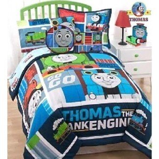 Conjuntos de sábanas de cama Thomas Tank Ideas para niños pequeños ...