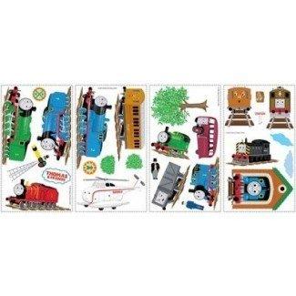 THOMAS THE TANK ENGINE WALL DECALS Adhesivos de tren Decoraciones de dormitorio para niños: nuevo envío gratis por la tienda WW
