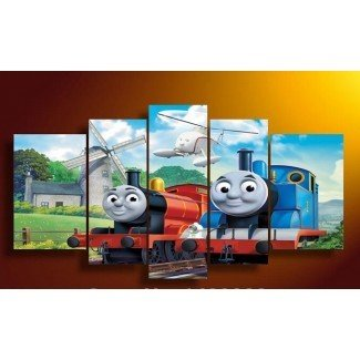 Thomas Train Wall Art - imágenes prediseñadas de thomas the train