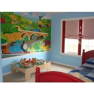 Thomas The Train Bedroom Decor Wall Art - Office y