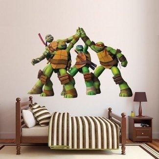 Las mejores 25+ ideas de decoración de habitaciones de tortugas ninja en Pinterest ...