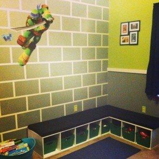 Dormitorio de tortuga ninja mutante adolescente | TMNT