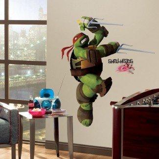 RAPHAEL GiaNT WALL DECALS Teenage Mutant Ninja Turtles ...