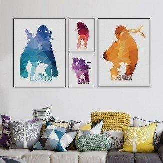 Más de 25 mejores ideas sobre la decoración de la sala de tortugas Ninja en Pinterest