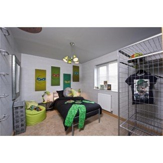 Impresionantes imágenes de ideas de decoración de dormitorios de tortugas ninja ...