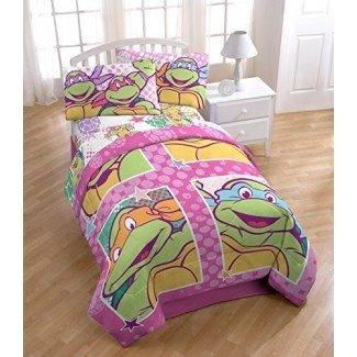 Decoración de dormitorio de tortugas ninja mutantes adolescentes