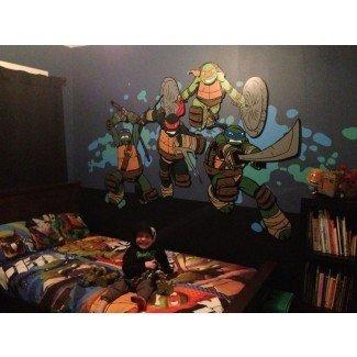 Mural de dormitorio Teenage Mutant Ninja Turtle. Work in ...