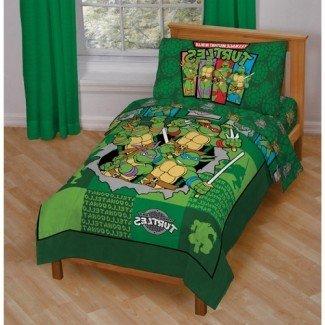 Decoración de dormitorio de tortuga ninja | The Partizans