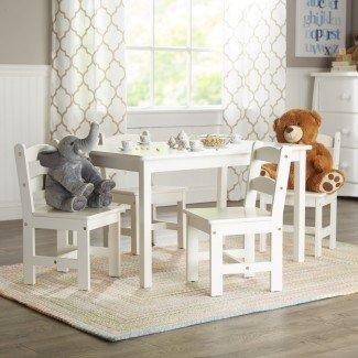 Juego de mesa y silla de 5 piezas Rickey Kids
