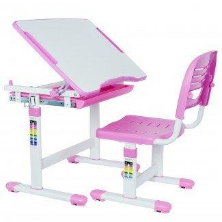 Escritorio y silla para niños VIVO de altura ajustable para niños ...