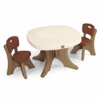 Juego de mesa y silla para niños pequeños   DesignCorner