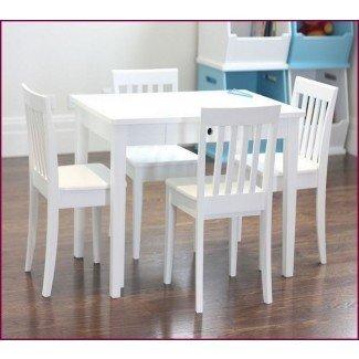 Escritorio y silla para niños pequeños Ikea - Whitevan