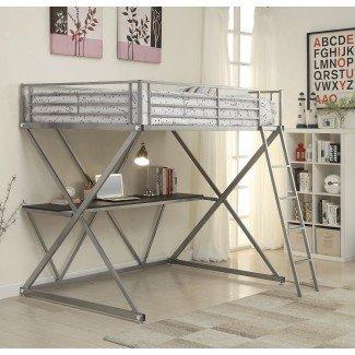 Litera Rachelle Workstation Loft con escritorio