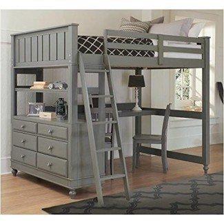 10 mejores camas tipo loft con diseños de escritorio - Decoholic