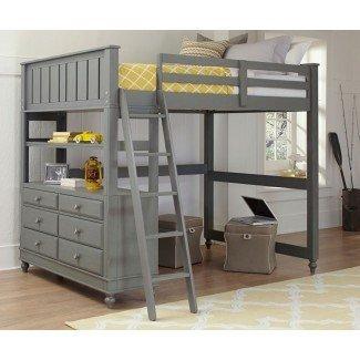 Ideas creativas para la cama alta para adultos -
