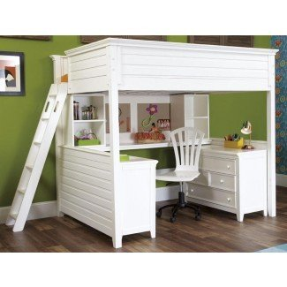 Dixie Twin Size Loft Bed de Totally Kids fun furniture