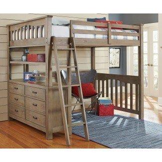 Diseños de cama tipo loft de tamaño completo »InOutInterior
