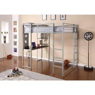Compre camas tipo loft asequibles para habitaciones pequeñas - Cama tipo loft