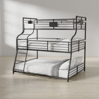 Prather Twin Over Full Over Queen Bunk Bed
