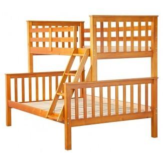 Pamplin Twin sobre cama litera completa