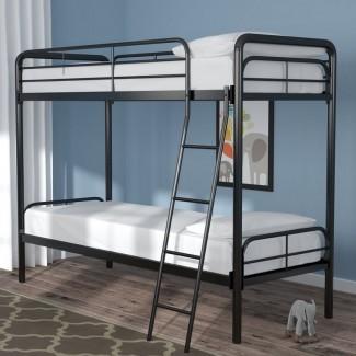 Litera doble con dos camas individuales Maryanne