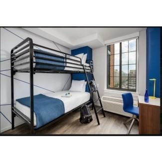 Litera individual sobre cama individual Dallas (uso comercial) - ESS