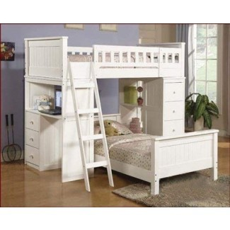 acme 10970A Willoughby Twin Loft Bed