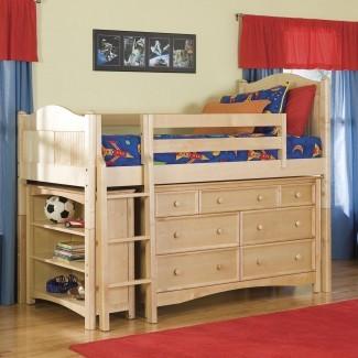 Bolton Furniture Cottage Twin Loft cama personalizable ...