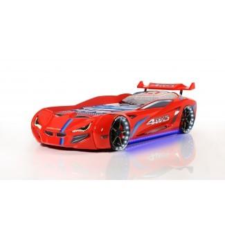 MVN1 Racer - Rojo | Camas de coche de carreras para niños