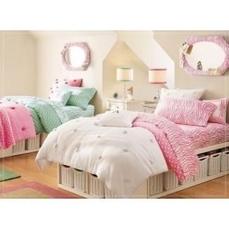 25 hermosas ideas para habitaciones de chicas adolescentes - Estate Style