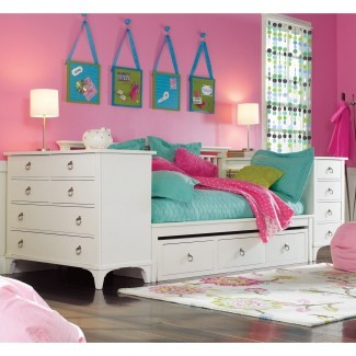 Dormitorio: Tumbona acogedora para niñas para inspirar dormitorio adolescente ...