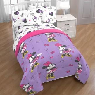 Juego de sábanas de Minnie Mouse