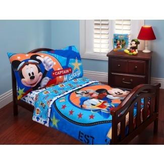 Juego de cama Disney Baby Mickey Mouse para niños pequeños - Bebé -