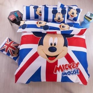 Juego de cama con diseño de Mickey Mouse