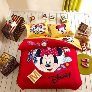 20 juegos de cama vigorizantes de Mickey y Minnie - My Decor