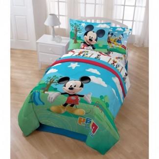 Ropa de cama para niños pequeños Mickey Mouse de Disney (niño pequeño de Mickey Mouse ...
