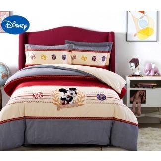 Juego de cama Mickey Mouse para niños Fundas nórdicas para cama ...