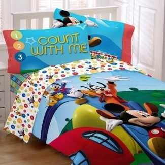 Juego de sábanas Disney Mickey Mouse Clubhouse, Twin -