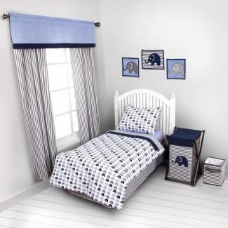 Juego de cama para niños pequeños de 4 piezas Yasmeen
