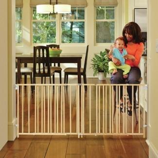 Puerta de seguridad para columpio de escalera extra ancha