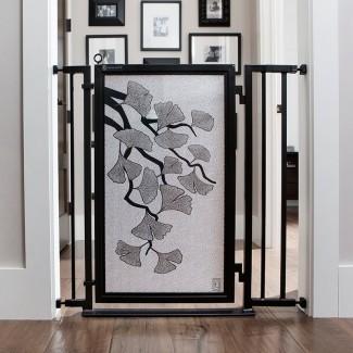 Puerta de seguridad de otoño Ginkgo